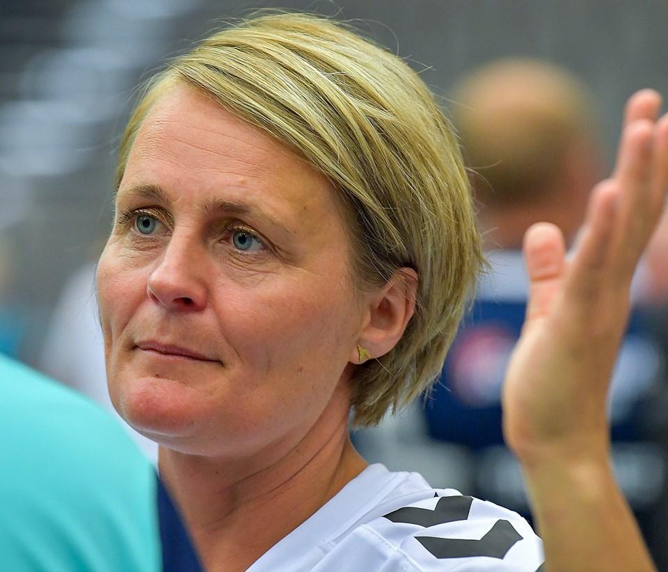 Rikke Nielsen er med, når HIK-Rosendal håndbold sætter gang i et Lykkeliga-hold for handicappede børn. ?Arkivfoto: Jesper Thomasen