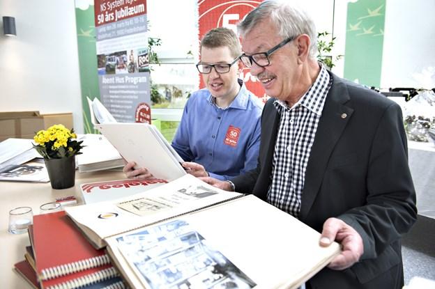 Niels Rask - her foreviget sammen med sin far faderen Claus Rask i forbindelse med 50 års jubilæet for NS System i 2015 - vil fortælle om virksomhedens digitale rejse.