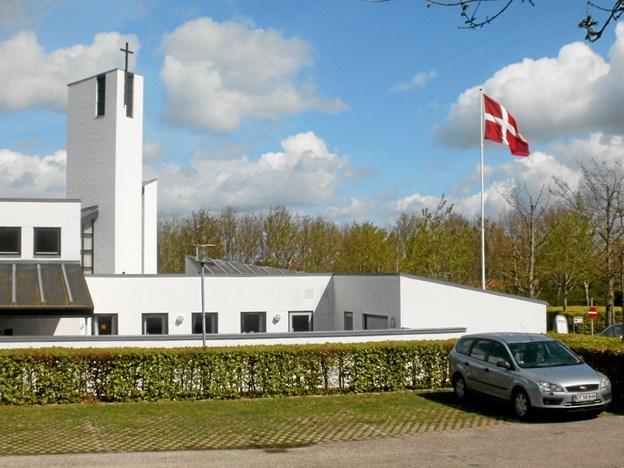 Torsdag 10. januar klokken 19 er Gistrup Kirke rammen om en gospelkoncert med de lokale konfirmander som kor. Foto: Kjeld Mølbæk