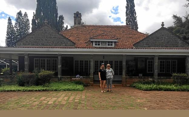 Kenya betød også et besøg på Karens Blixens Farm. Og historien om Blixen og hendes kaffefarm blev en øjenåbner. Hun regnes for at være én af verdens største forfattere - og er oversat til mere 30 sprog. Privatfoto.