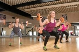 Rosendal Idrætsforum er hjemsted for mange typer motion i lokalsamfundet. Privatfoto