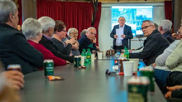 150 personer deltog i mødet om Hedelunds fremtid. Foto: Martin Damgård Martin Damgård