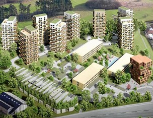 Ny plan for højhuse i Aalborg på vej: Sådan skal højhusene placeres fremover