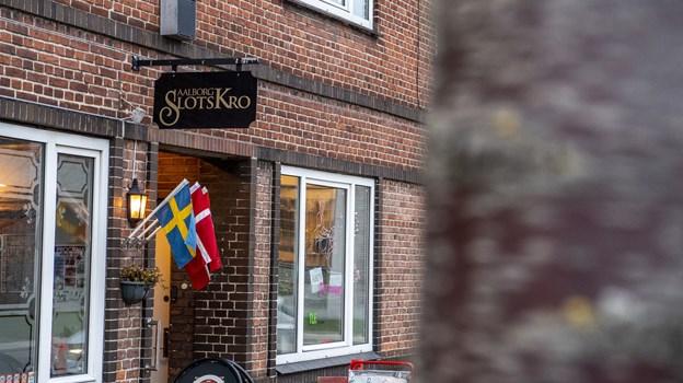 Man finder Aalborg Slotskro i Slotsgade 35. Foto: Andreas Falck