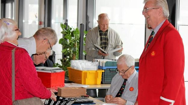 Ove Bjerrum fra Det gamle Postkontor. Foto: Flemming Dahl Jensen Flemming Dahl Jensen