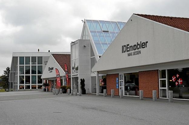 Den store møbel- og boligindretningsbutik har i forskellige udgaver været en del af Terndrup siden 1951. Det startede med et butikslokale på 16 kvadratmeter. I dag rummer butikken 7.000 kvadratmeter. Foto: Jesper Bøss