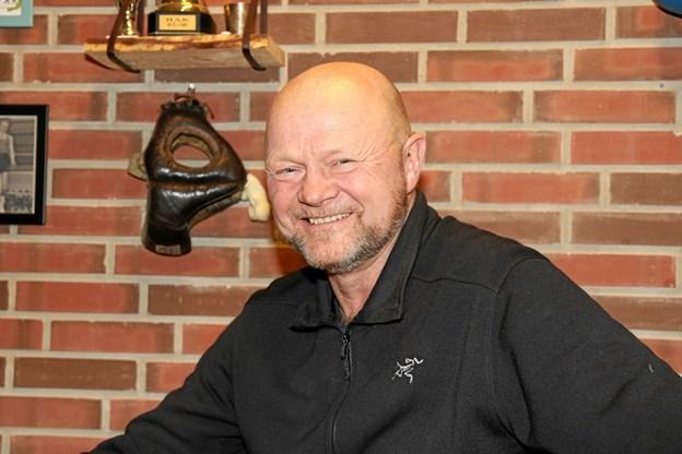 Kim Aarestrup kan se tilbage på 30 år som formand for Pandrup Bokseklub. Foto: Flemming Dahl Jensen