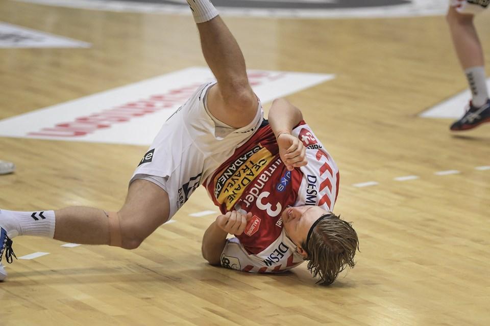 En lang sæson sluttede med et nederlag for Aalborg Håndbold i Gudme. Foto: Bent Bach