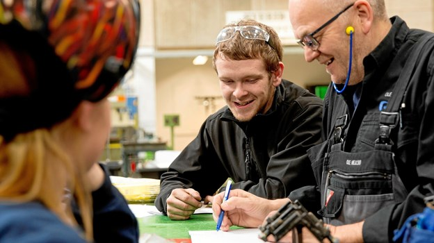 EUC Nordvest er først i Danmark med det nye speciale. PR-foto.