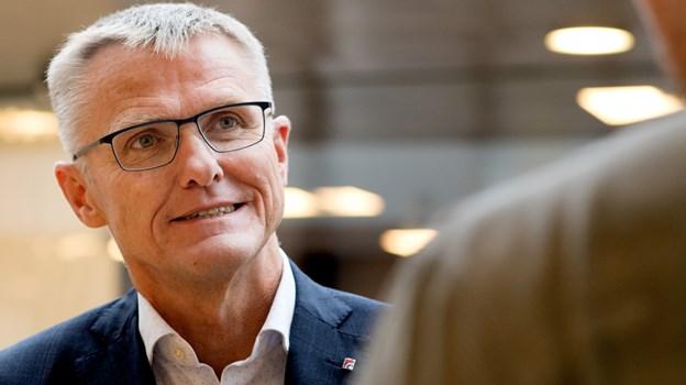 Det er vores forventning, at vi vil stå stærkere i konkurrencen om større erhvervskunder og offentlige kunder, skriver Spar Nords administrerende direktør, Lasse Nyby