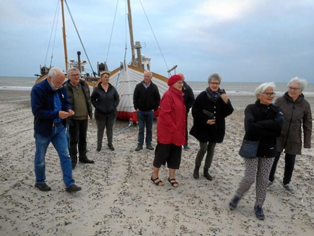 Årets gang i Attrup Borgerforening bød blandt andet på en aftentur til Han Herred Havbåde. Privatfoto