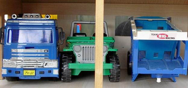 """Mangler der nyt til """"vognparken"""", kan du helt sikkert finde det her. Foto: Palle Sund Kristensen."""