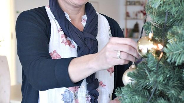 Dorte Porsmose arrangerer for femte år i træk julefrokost for borgere, som har det svært. Arkivfoto: Bent Bach