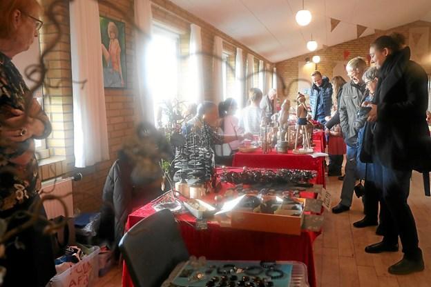 Stae Borgerforening holder 2. december julestue i borgerhuset. Foto: Allan Mortensen