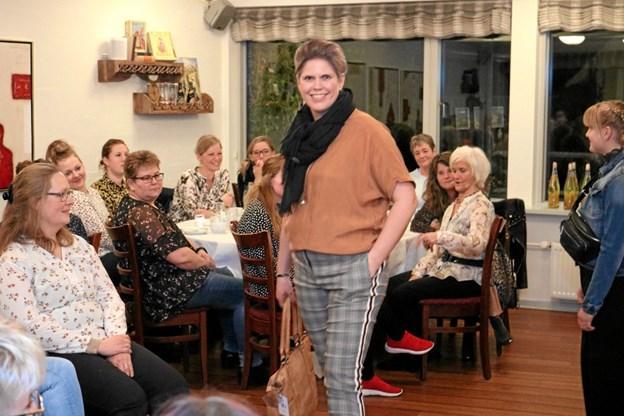 Gennem et godt samarbejde med restaurant Frk. Madsen, afholder Sanne C. to årlige modeopvisninger, i marts og oktober. Foto: Tommy Thomsen