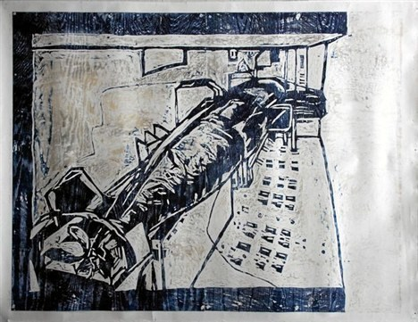 Dette værk er et mindesmærke over krigen i Irak.