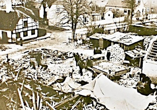 I 1945 blev avisens trykkeri i Danmarksgade totalt udraderet af Schalburgtage.