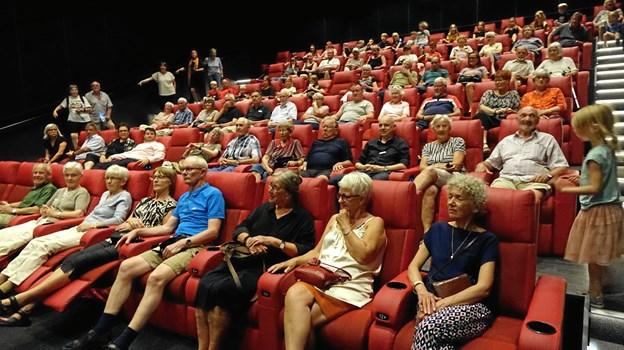 Publikum har for alvor taget den nye biograf i Løgstør til sig. Privatfoto
