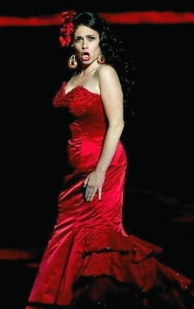 Kærlighed er selve grundkernen i Carmen. Foto: Fjerritslev Kino