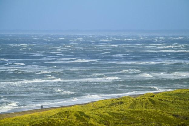 Udsigt til brusende Vesterhav fra Svinkløv. Arkivfoto: Michael Koch