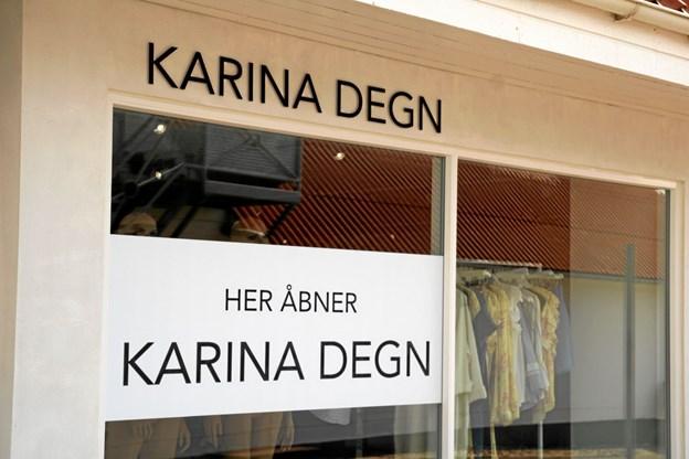 Butikken åbner 12. april. Foto: Flemming Dahl Jensen Flemming Dahl Jensen