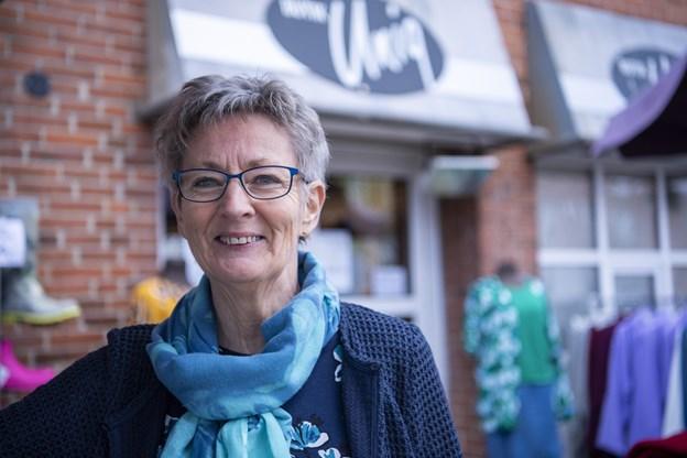 Butik Uniq i Algade lukker til sommer - med mindre nye kræfter melder sig til at tage over. Foto: Kim Dahl Hansen Foto: Kim Dahl Hansen