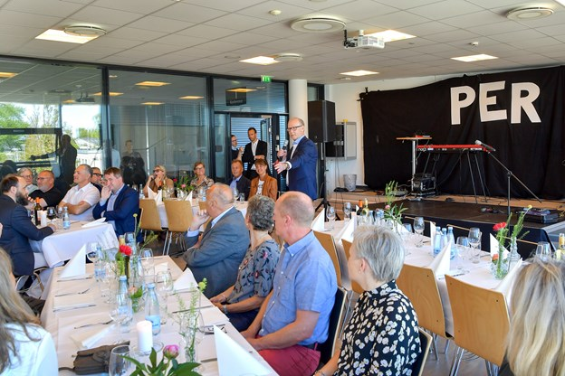 Mr. Arena Nord bød velkommen til sin 60 års dag, Foto: Jesper Thomasen