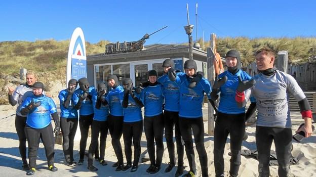 Elever fra Midtskolen i Hasle på Sjælland var på surfer-lejrskole allerede før påske. Foto: Arkivfoto Arkivfoto