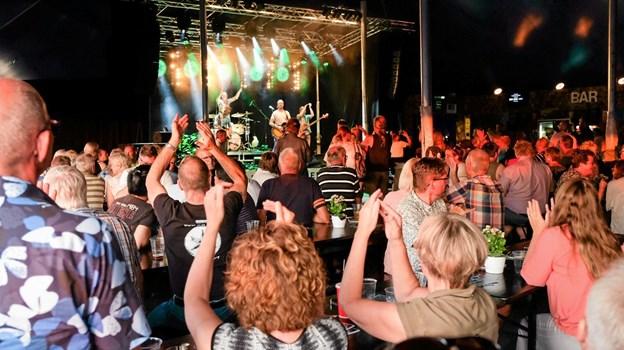 På kort tid havde bandet publikum i sin hule hånd. Foto: Niels Helver Niels Helver
