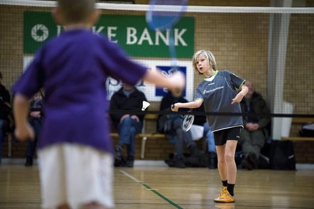 Så er der Kommunemesterskab i badminton   Arkivfoto: Bente Poder