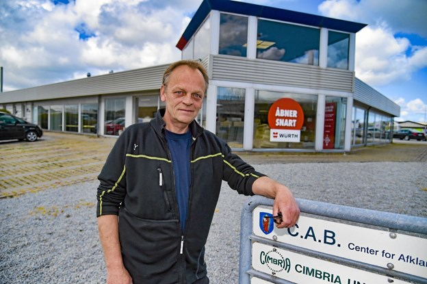 Würth åbner stor butik på Præstejorden 7. Ny leder af butikken bliver Preben Møller. Foto: Ole Iversen