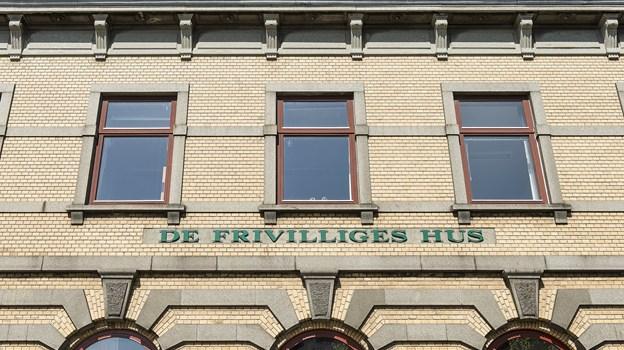 Foto Peter Broen   Frederikshavn. Ballade om de frivilliges hus.