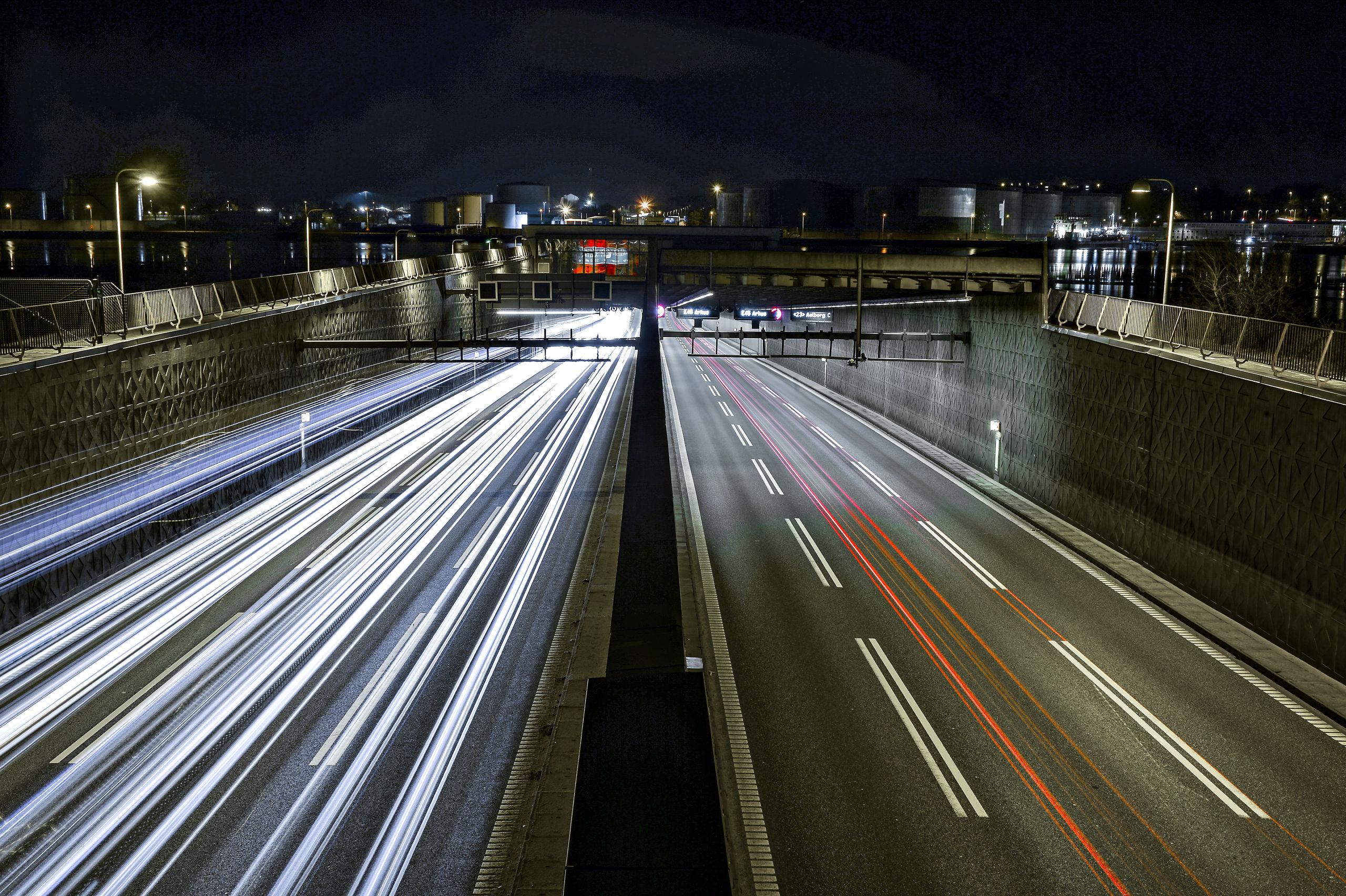 Elsket og hadet - men helt uundværlig. I 2019 fylder tunnelen 50 år. Arkivfoto: Claus Søndberg