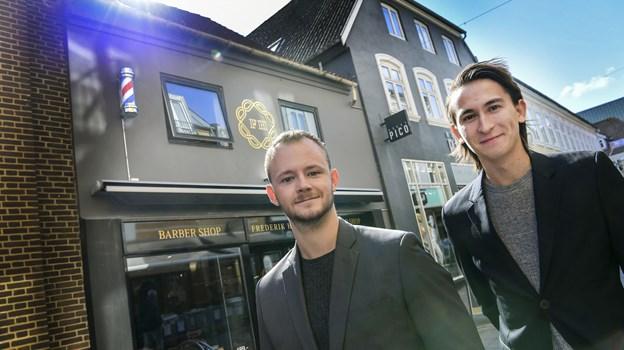 Her er det begge grundlæggere af Frederik Hector Frederik Kjaer (tv) og Phillip Nielsen. Foto: Michael Koch