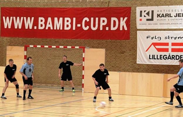 Bambi Cup spilles i sidste weekend op til jul. Privatfoto