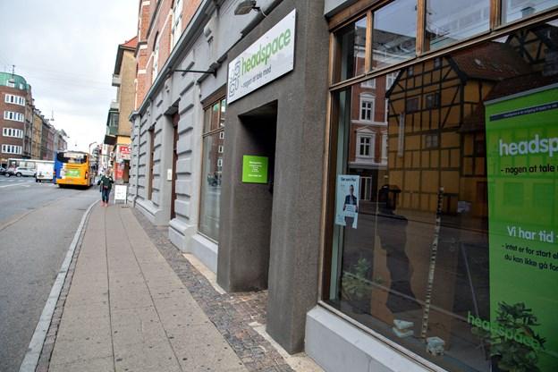 Headspace har til huse i Borgergade 6 i Aalborg.