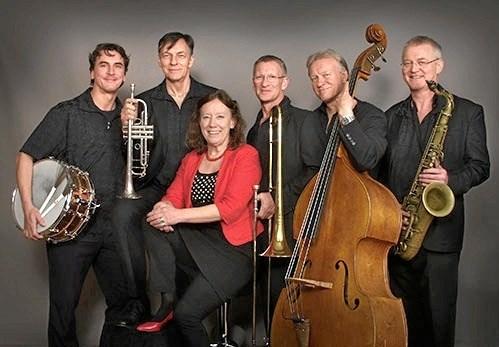 River Jazz & Blues Band spiller på Knivholt. PR: Foto.