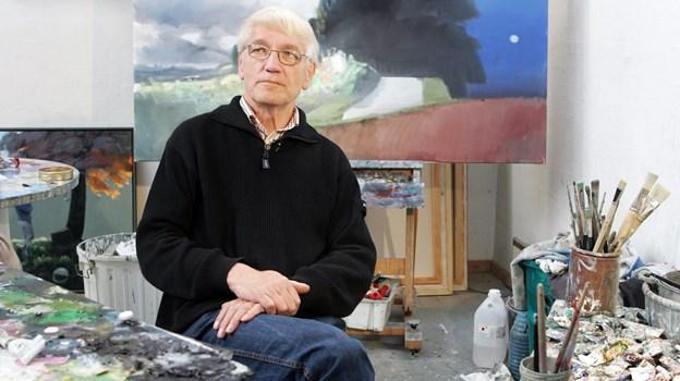 Poul Anker Bech levede i Børglum til hans død i 2009. Arkivfoto: Henrik Louis