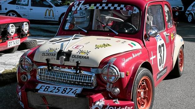 Løbet er for biler med historisk national eller international vognbog, til og med 31. december 1990. Foto: Peter Jørgensen Peter Jørgensen