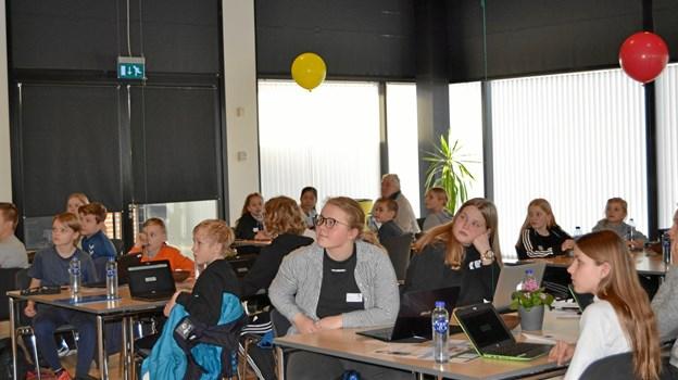 Kreativitet er et af de punkter, der fik særligt fokus af eleverne. Privatfoto