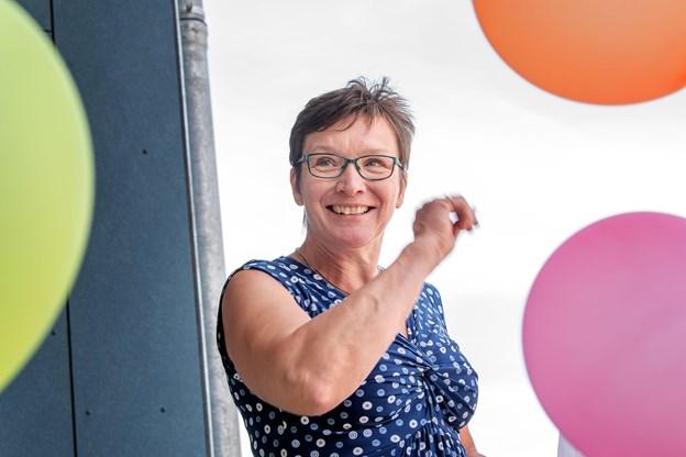 Børne- og familieudvalgsformand Inger Nielsen (V) - glæder sig over, at kommunens skoler og daginstitutioner har valgt at gå så positivt ind i profilarbejdet. Arkivfoto