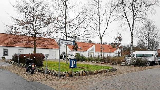 Den udvidede og ombyggede sognegård i Ellidshøj ved indvielsen den 2. december. Foto: Karl Erik Hansen Karl Erik Hansen