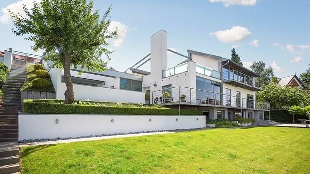 Her er det dyreste hus, du p.t. kan købe i Aalborg: Foto: Ejendomsmæglerfirmaet Thorkild Kristensen