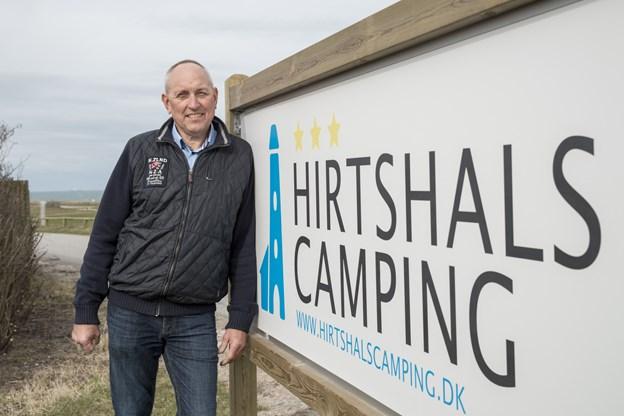 Jørgen Eriksen, forpagter af Hirtshals Camping fra 2015.   Arkivfoto: Nicolas Cho Meier
