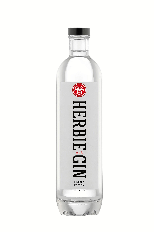 AaB er gået sammen med Herbie Gin om den helt særlige Aalborg-variant. PR-foto