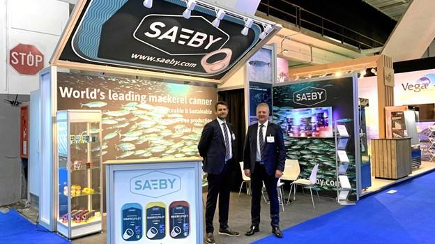 A/S Sæby Fiske-Industris stand på messen
