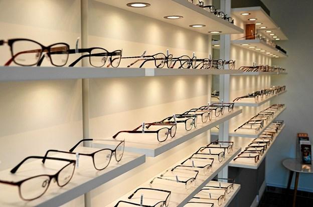 Præsentationen af brillerne er nu blevet endnu flottere. ?Foto: Jesper Bøss