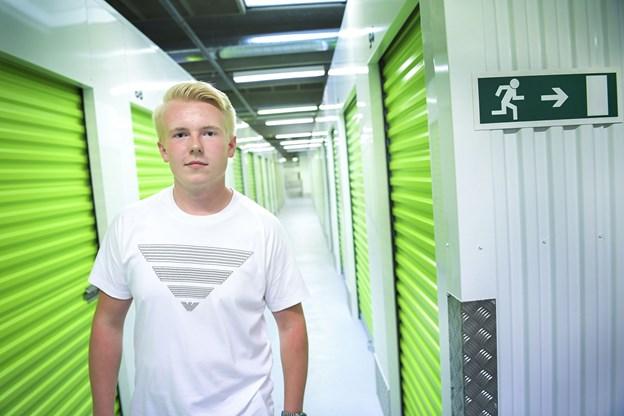 Emil Aksel Nielsen er glad for chancen og håber, det kan bidrage til hans uddannelse.