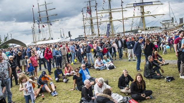 Folkefesten på kajen er en stor del af Tall Ships Races - i år er der for eksempel 70 koncerter. Arkivfoto: Laura Guldhammer