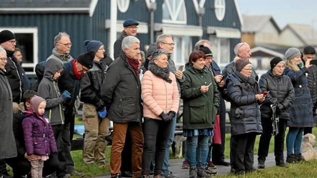 Seancen tiltrak sig stor opmærksomhed. Foto: Allan Mortensen Allan Mortensen